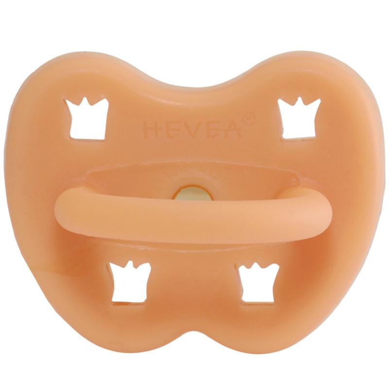 Slika za  Hevea® Ortodontska duda od kaučuka Cantaloupe KRUNA