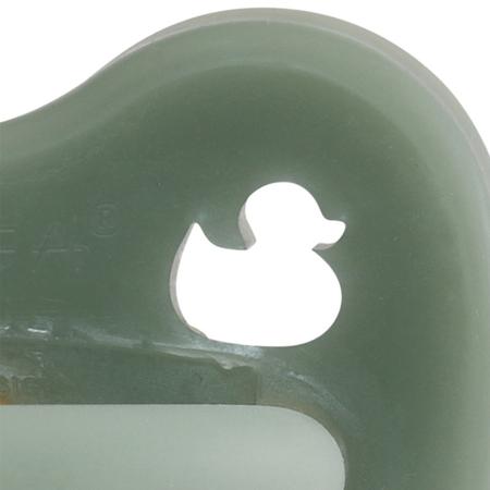 Slika za Hevea® Tolažilna duda iz kavčuka Moss Green RAČKA