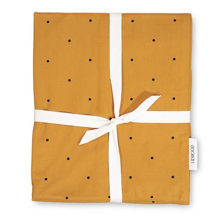 Slika za Liewood® Posteljina Junior Classic Dot Mustard 100x140