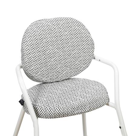 Charlie Crane® Blazina za stolček TIBU Diamond B&W