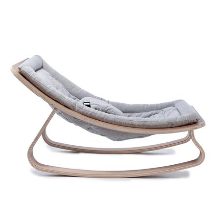 Slika za Charlie Crane® Ležalnik in gugalnik za dojenčka LEVO Hetre Grey