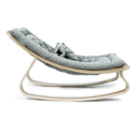 Slika za Charlie Crane® Ležalnik in gugalnik za dojenčka LEVO Hetre Blue
