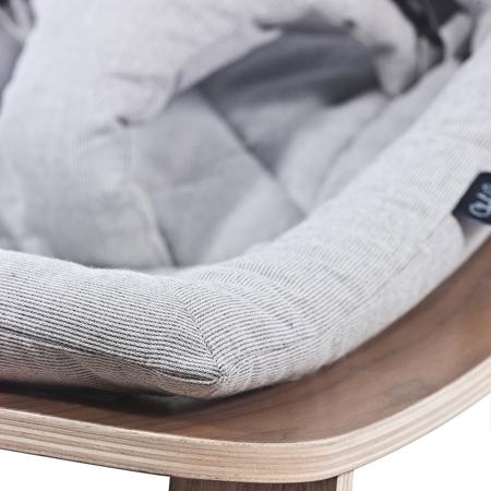 Slika za Charlie Crane® Ležalnik in gugalnik za dojenčka LEVO Noyer Grey