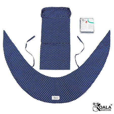 Slika za Koala Babycare® Presvlaka za jastuk za trudnice Hug Comfy Blue +