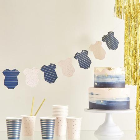 Slika za Ginger Ray® Viseća dekoracija za Baby Shower Pink/Navy