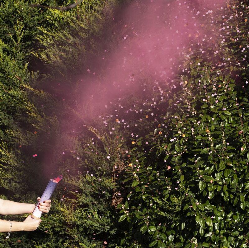 Slika za Ginger Ray® Top za konfete Pink Smoke