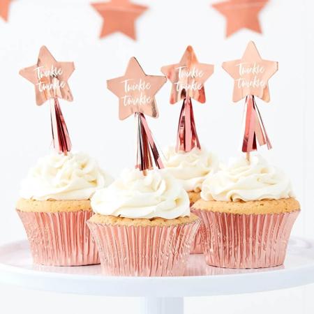 Slika za Ginger Ray® Ukrasi za kolačiće Twinkle Twinkle 12 komada