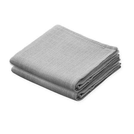 Slika za  CamCam® Komplet tetra pelena Grey 70x70