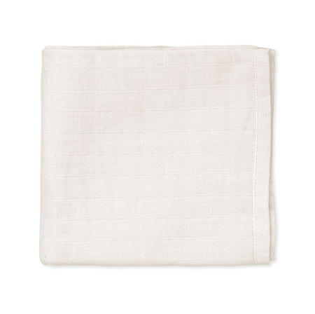 CamCam® Komplet tetra pelena Creme White 70x70