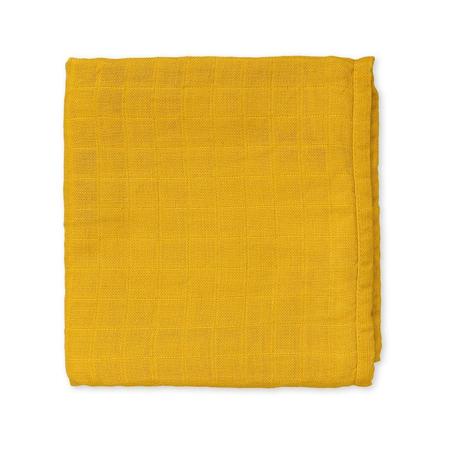 CamCam® Komplet tetra pelena Mustard 70x70