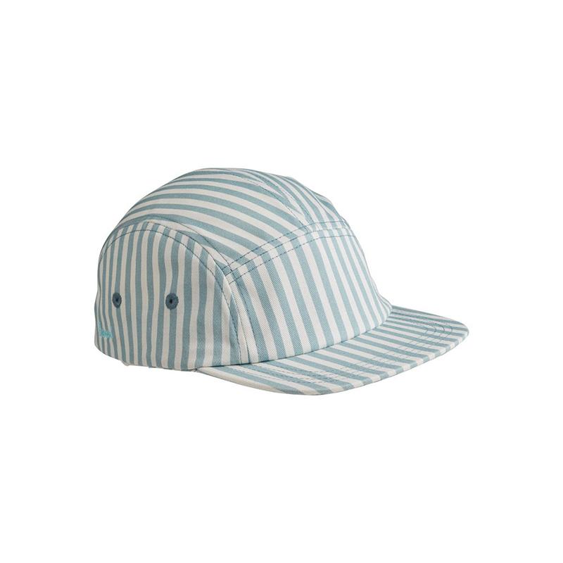Slika za Liewood® Rory kapa s šilcem Sea Blue/White 3-4 L