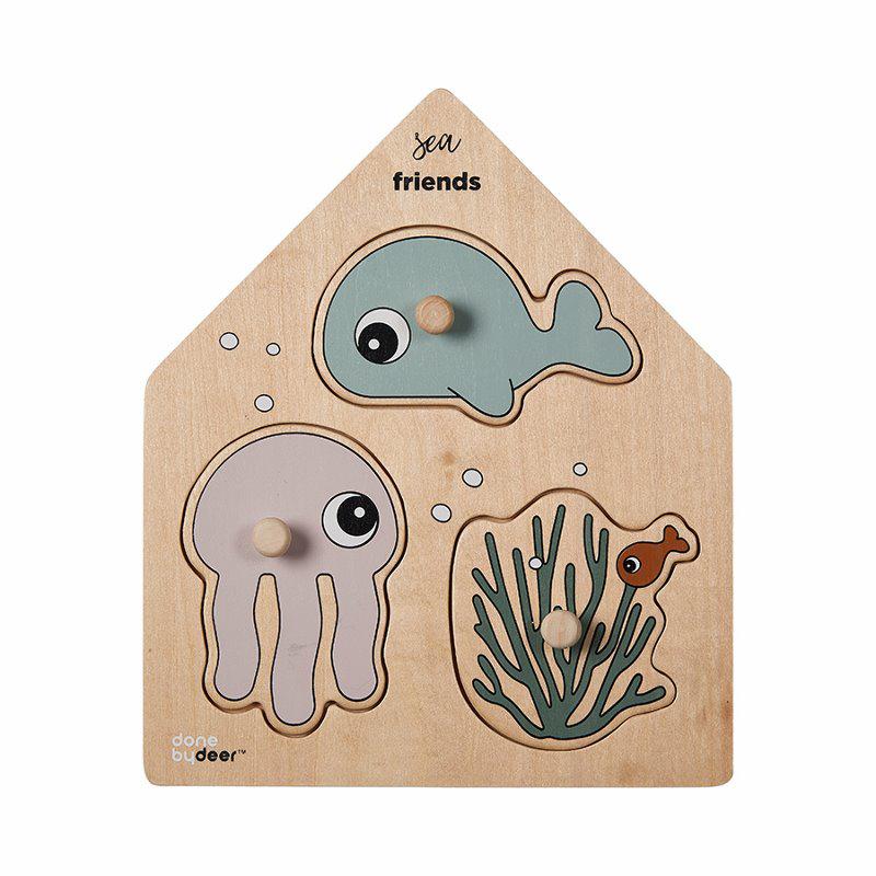 Slika za Done by Deer® Puzzle Sea friends