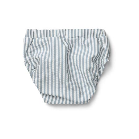 Liewood® Kupaći kostim Frej Stripe Sea Blue/White