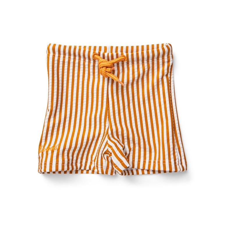 Slika za Liewood® Dječje kupaće gaćice Otto Stripe Mustard