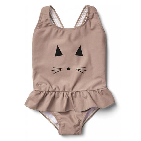 Slika za Liewood® Otroške enodelne kopalke Amara Rose Cat
