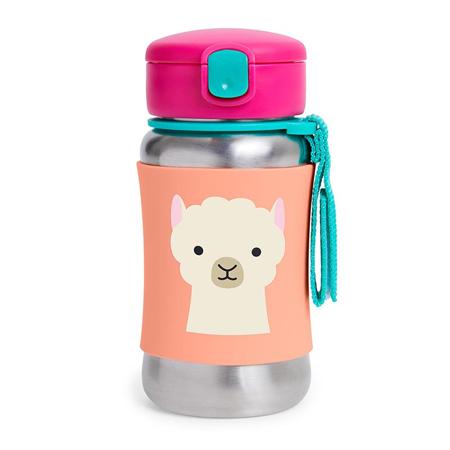 Slika za Skip Hop® Steklenička iz nerjavečega jekla s slamico Lama