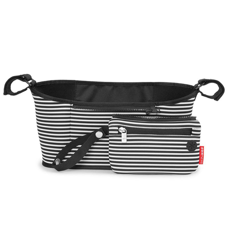 Slika za Skip Hop® Organizator za voziček Black & White Stripe