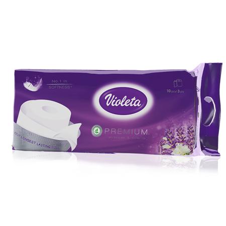 Slika za Violeta® Toalet papir Premium Lavanda 10/1 3SL