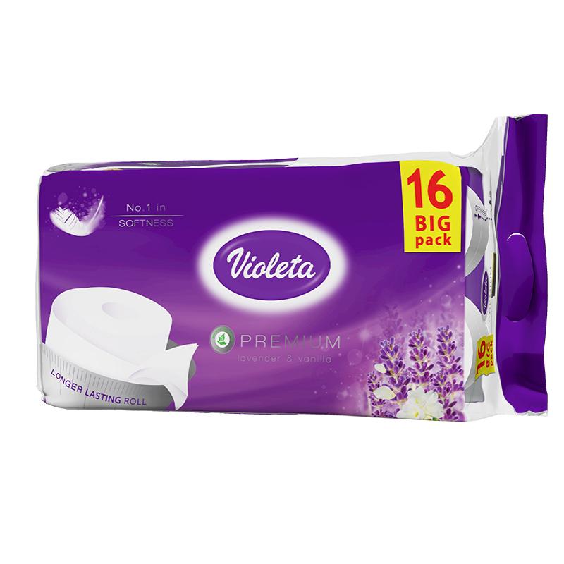 Slika za Violeta® Toalet papir Premium Lavanda 16/1 3SL