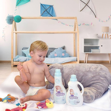 Violeta® Double Care Baby Omekšivač za rublje 900ml