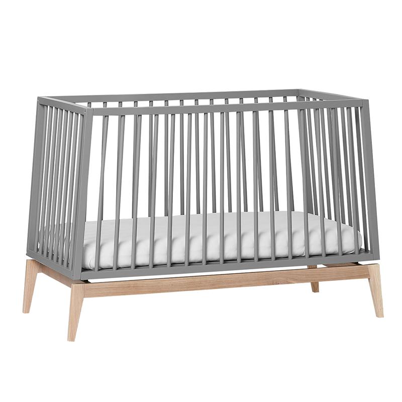 Slika za Leander® Otroška postelja Luna™  120x60 cm Grey/Oak
