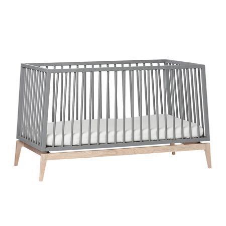 Slika za Leander® Otroška postelja Luna™ 140x70 cm Grey/Oak