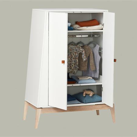 Leander® Otroška omara Luna™ Small White/Oak