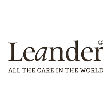 Slika za Leander® Otroška omara Luna™ Large White/Oak