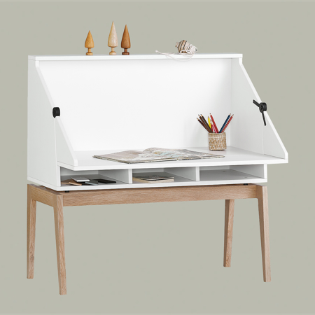 Slika za Leander® Otroška mizica Luna™ White/Oak
