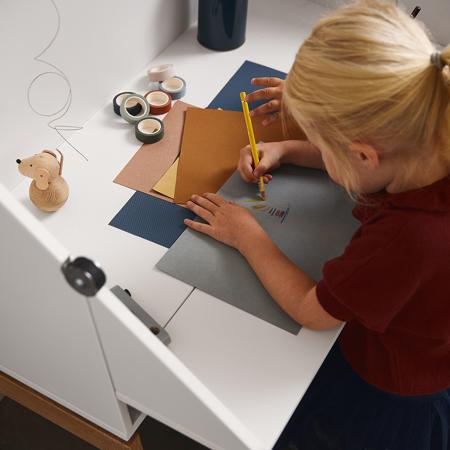 Slika za Leander® Otroška mizica Luna™ Grey/Oak