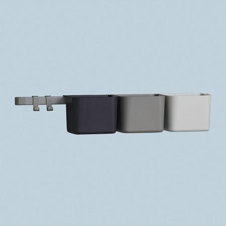 Slika za Leander® 3x organizatorji in 1x daljši nosilec Dusty Grey