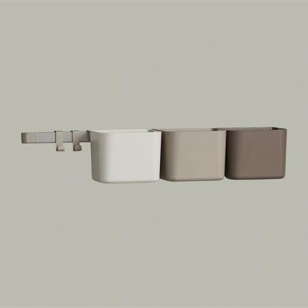 Slika za Leander® 3x organizatorji in 1x daljši nosilec Cappuccino