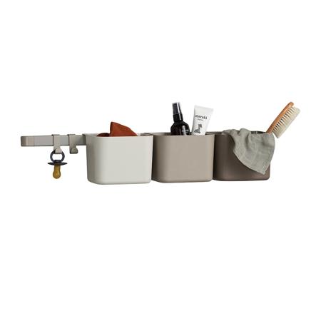 Slika za Leander® 3x organizatora i 1x duži nosač Cappuccino