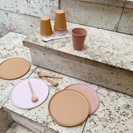 Slika za  Liewood® Set bambusovih čašica Gertrud Coral Blush 6 komada