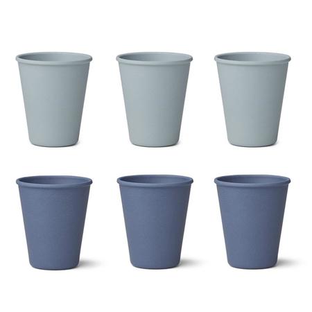 Slika za Liewood® Set bambusovih čašica Gertrud Blue Mix 6 komada