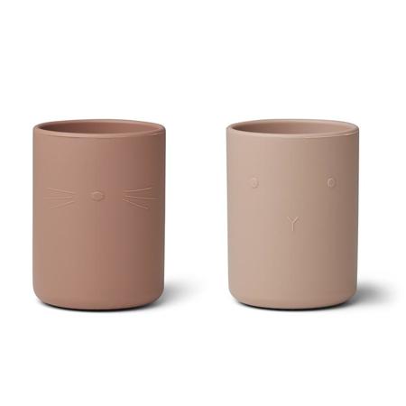 Slika za Liewood® Set dvi silikonske zdjelice Ethan Rose Mix