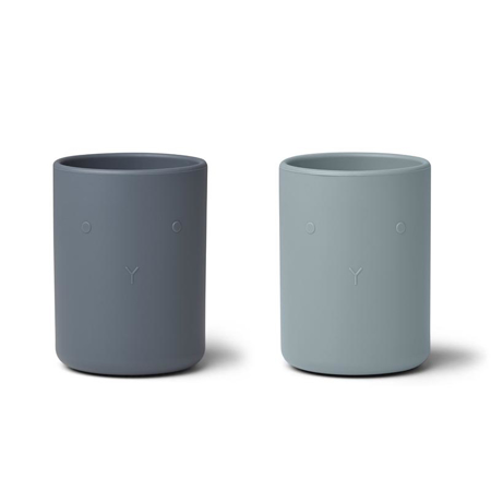 Slika za Liewood® Set dvi silikonske zdjelice Ethan Blue Mix