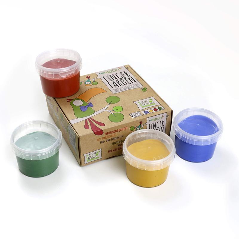 Slika za Neogrün® Set boja za prste Aki