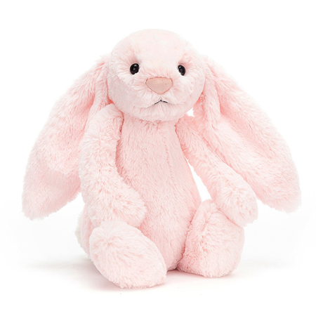 Slika za Jellycat® Plišani zec Bashful Pink Huge 51cm