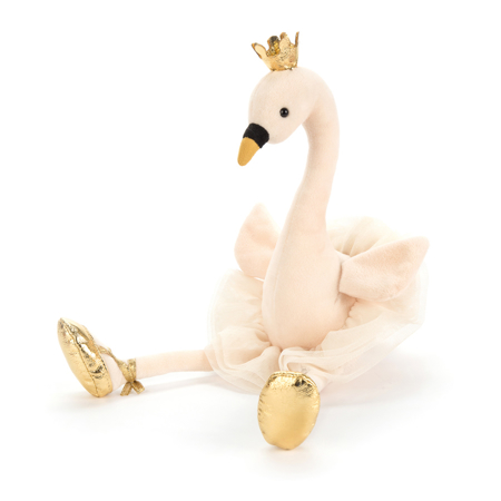 Slika za Jellycat® Plišana igračka Fancy Swan Medium 34cm