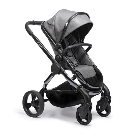 Slika za  iCandy® Dječja kolica s košarom 2v1 Peach s crnim okvirom Phantom Dark Grey Twill