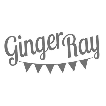 Slika za Ginger Ray® Tanjuri s folijom Ombre Rose Gold 8 komada
