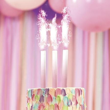 Slika za Ginger Ray® Fontana za tortu Pink Ombre 3 komada