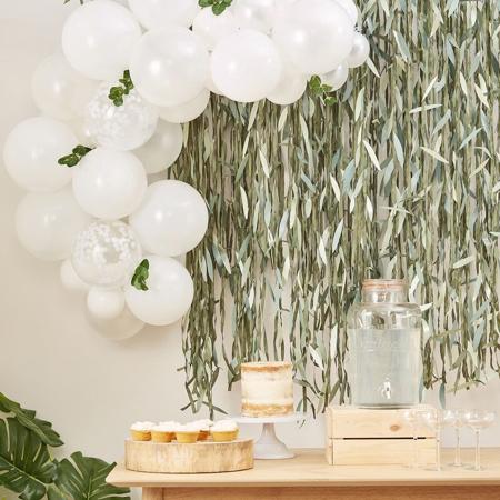 Slika za  Ginger Ray® Luk iz balona Pastel White Botanical