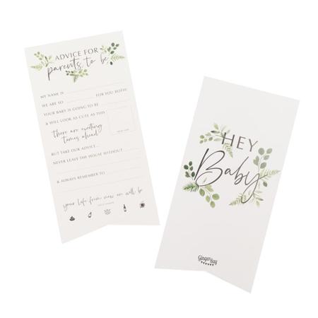 Ginger Ray® Kartice za savjete Botanical 10 komada