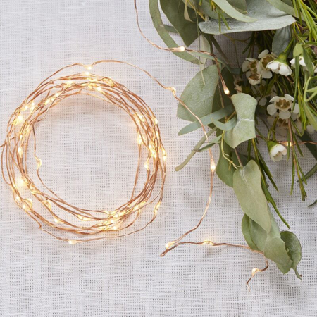 Slika za Ginger Ray® Led svjetla na traki Rose Gold 3m