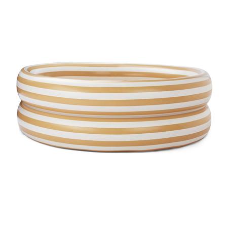 Liewood® Dječji bazen Leonore Stripe Yellow Mellow/Creme