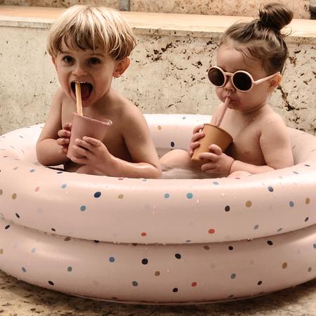Slika za Liewood® Dječji bazen Leonore Stripe Yellow Mellow/Creme