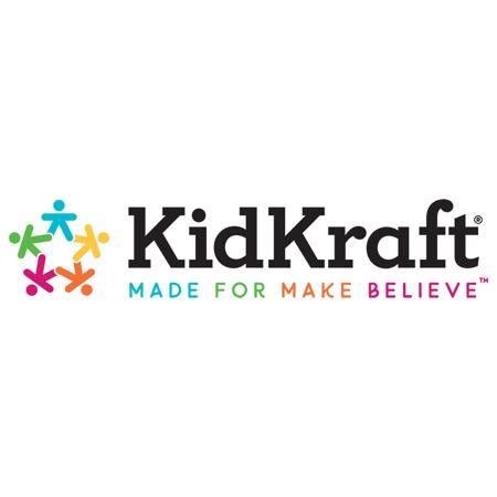 Slika za KidKraft®  Vanjski stol s kišebranom i klupicama Pink/White