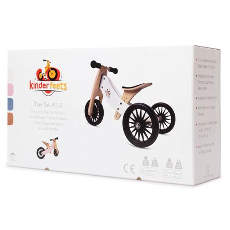 Slika za Kinderfeets® 2u1 Tricikl i bicikl bez pedala Tiny Tot Plus White